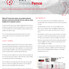 FFT Secure Fence Brochure